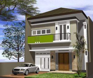 Indahnya Rumah Minimalis dengan Dua Lantai