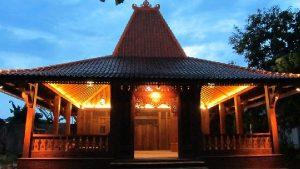 Spesifik Rumah Adat Joglo Jawa Tengah