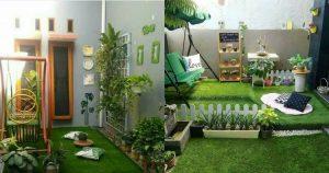5 Inspirasi Bentuk Taman Kecil Depan Rumah Agar Tampak Asri