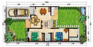 Kenali Tipe Sederhana Denah Rumah Type 45, 36 dan 60
